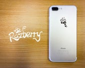 Wizard with Scarf iPhone Decal Sticker iPhone X Sticker iPhone 7 Plus Decal Wizardry School Sticker Witch Smartphone Apple Film Sticker