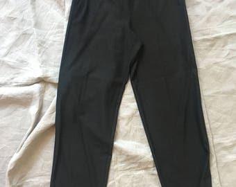 Dark Olive Green Georgio Armani Trousers