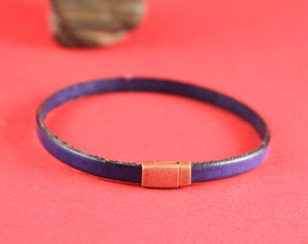 5B/6 MADE in EUROPE zamak tiny magnetic clasp, 5mm flat cord clasp, flat cord magnetic clasp (TM5x2FC) Qty1