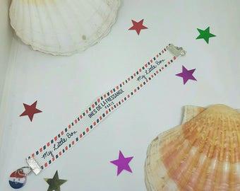 The Fressange Ines Ribbon Bracelet