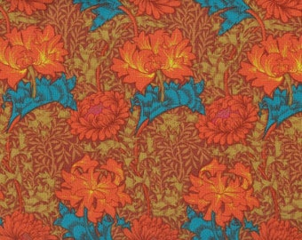 Kaffe Fasset Winding Floral; 1/2 yard woven cotton Fabric #85
