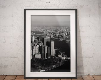 New York Print | New York City Map, City Wall Art Poster, City Scape, New York Print, New York Poster, New York Photo, Immediate Download