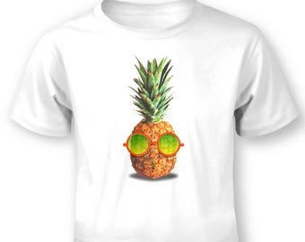Pineapple With Sunglasses baby t-shirt