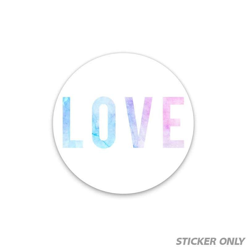 Love STICKER Quote Sticker Phone sticker Mini Stickers