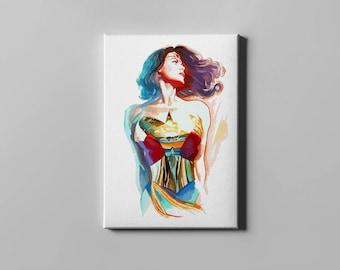 wonder woman poster wonder women canvas print wall art home decor canavas print canvas - Woman Home Decorating