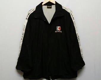 Vintage 90s//Karl Kani//Windbreaker Jacket//Size L //Big Logo//