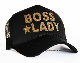 Boss Lady Snapback trucker hat | Boss Lady Cap