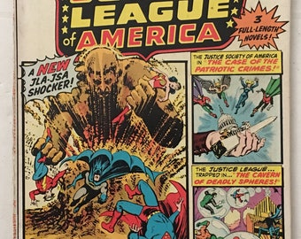 Justice League of America #113 Fine 6.0 JLA / JSA - 100 Pages DC Bronze Age 1974 Comic Book