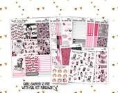Vertical Sticker Kit   Weekly Sticker Kit   Planner Sticker Kit   Planner Stickers   Character Stickers   Sticker Kit