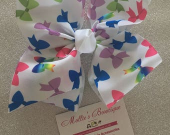 6.5-7'' BIG 'JoJo' inspired Bow - Bow Print