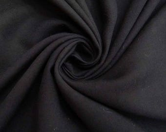 "Black Rayon Fabric, Dress Material, Quilting Fabric, Sewing Accessories, 44"" Inch Home Decor Fabric By The Yard ZBR316A"