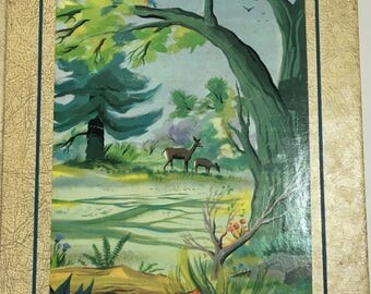The Bookshelf for Boys and Girls, 1963 - HC - VG - Volume 7 - Nature and Science - Illustrated Vintage Childrens Book - Collectible Books