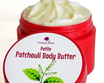 Patchouli - Body Butter - Body Cream - Patchouli Oil - Body Lotion - Lotion - Hemp Seed Oil - Hemp Oil - Essential Oil - Gifts under 10