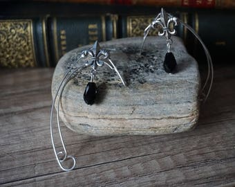 """Eleven ears """"black and silver"""""""
