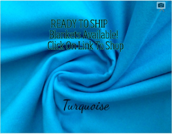 Solid Color, Weighted Blanket, Turquoise, Up to Twin Size 3 to 15 Pounds.  SPD, Autism, Weighted Blanket.