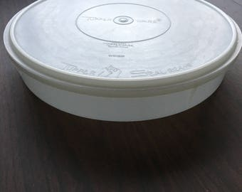 Vintage Tupperware Round Container