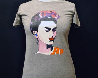 Frida Kahlo Shirt  - Frida Kahlo T Shirt - Frida Kahlo Women Shirt - frida kahlo tee shirts - frida kahlo prints - frida kahlo clothing
