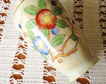 Luster Ware Vase Art Deco from Japan