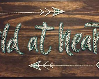 Wild At Heart - String Art