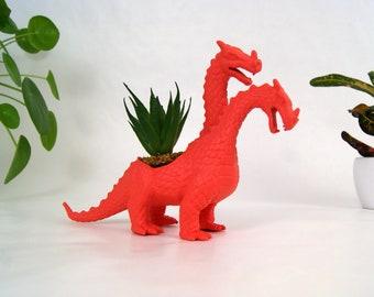 Cache pot dinosaure