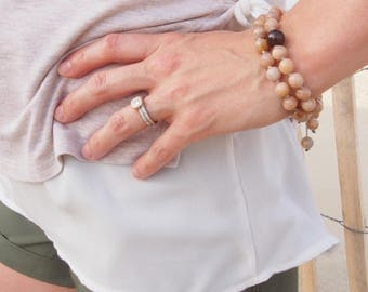 Vitality and Intuition Stacked Mala