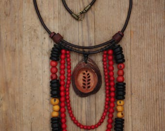 "Avocado ""Harvest "" Necklace"