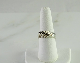 Sterling Ring Size 8