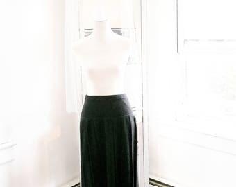 Vintage Italian Mohair Pleated Skirt