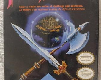 Final Fantasy (Nintendo, NES) Brand New - Factory Sealed