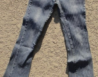 striped jeans, zana-di pants striped jeans, 1990S Size 5
