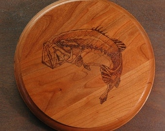 For the Fishermen/women!  Wood burned rounds with various fish