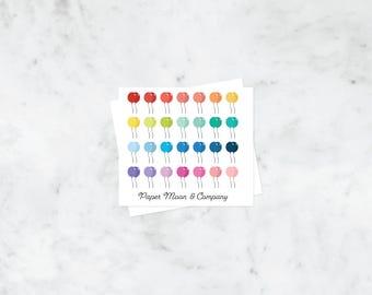 Balloon Planner Stickers