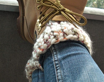 knit boot cuffs