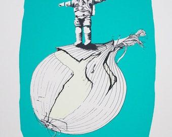 Onionaut – #1 Standing on an Onion