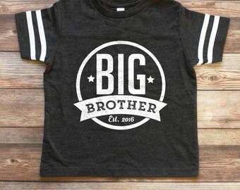 Big Brother Shirt - Big Brother Announcement Shirt - Big Brother Gift - Big Brother T shirt - Brother Tee - Personalized Big Brother Shirt