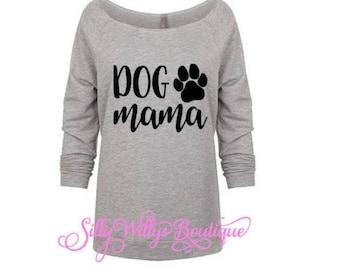 Dog Mama shirt, Dog Mom shirt, Fur mama shirt, Dog lover shirt, Mother's Day gift, Dog mama, Dog mom, Raw edge shirt, Dog lover gift