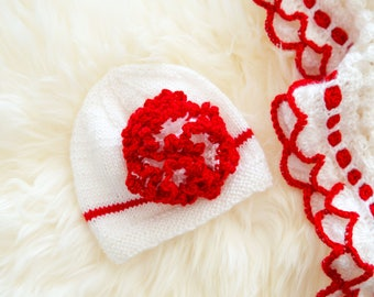 Carnation Flower Hat