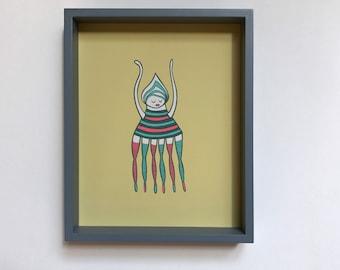 Leggy Creature Art Print