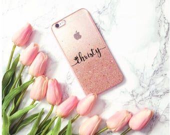 Rose Gold Hombre Glitter Samsung Galaxy S5 Case samsung galaxy Note 5 case iPhone 5 case iPhone 5S case iPhone SE case