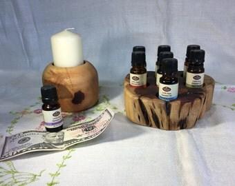 Essential Oil Holder Display Stand (7 Bottles)