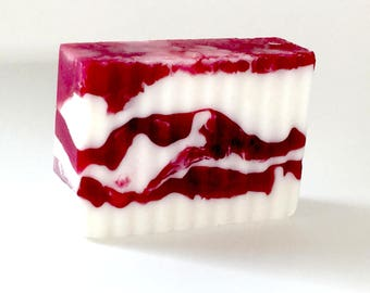 Cranberry Pomegranate Goat Milk Bar Soap