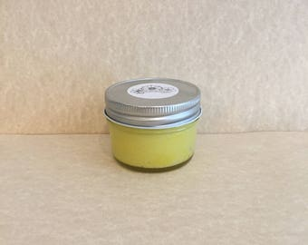 Lemon: Scented Exfoliating Sugar Scrub (4 oz.)