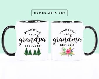 Pregnancy reveal Grandma to be Grandpa to be Grandparents gift Grandma mug Grandpa mug Gift for grandma Gift for grandpa Coffee mug