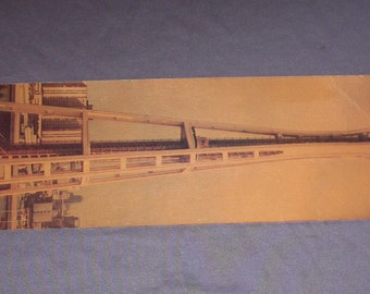 "Vintage 22"" ""Long John"" Postcard of Seattle Space Needle, 1960s"