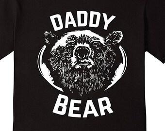 PAPA Bear shirt father's day new papa t-shirt Daddy tee