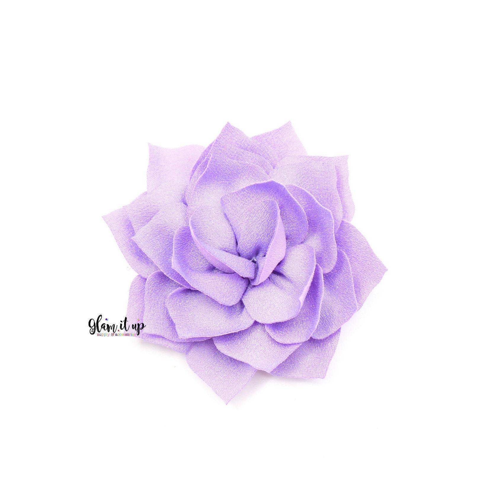 Diadema de flores flores de seda flores de loto flores de flores de ...
