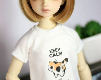Keep Calm and Watch my Balls Shirt | MSD, yoSD | BJD Clothing