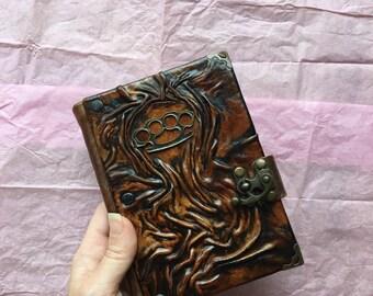 Steampunk Journal, Travel Journal, Leather Journal, Leather Notebook, Leather Diary, School Journal, Gift Idea