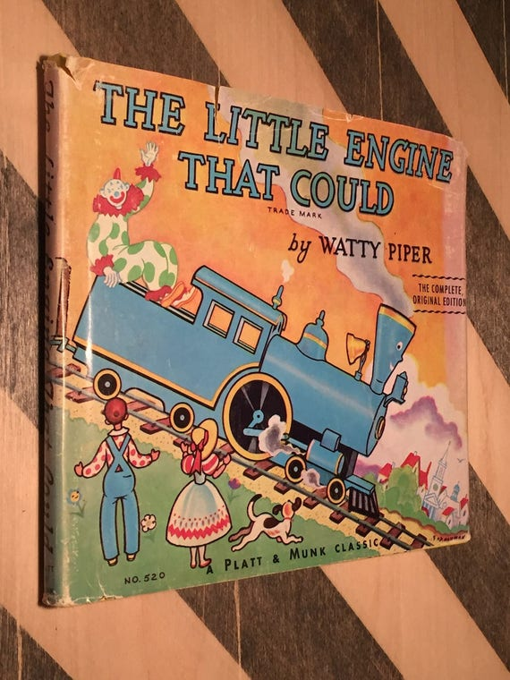 The Little Engine that Could by Watty Piper (1961) hardcover book