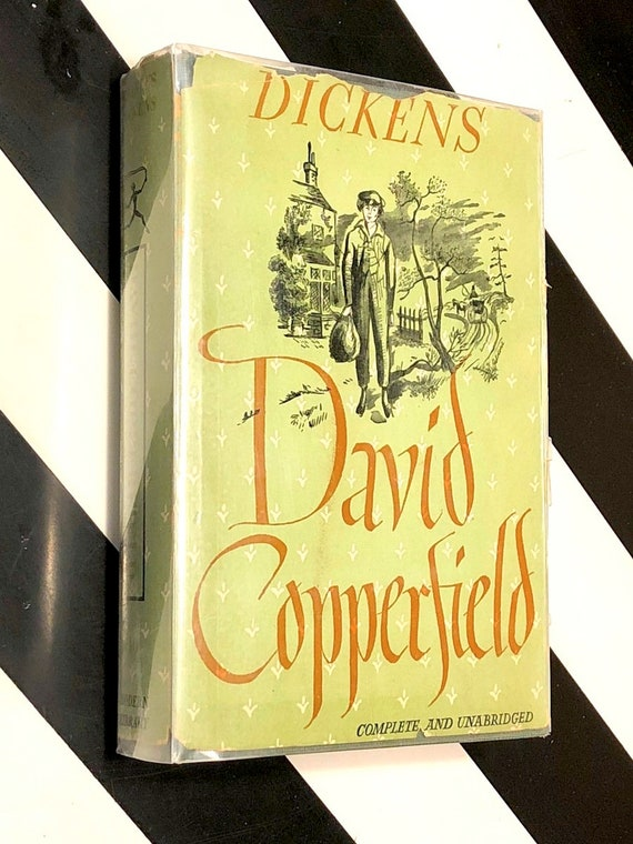 David Copperfield by Charles Dickens (1950) Modern Library hardcover book